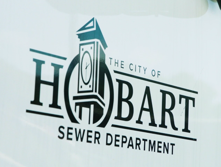 Hobart sewer department